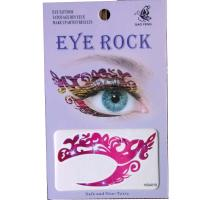 HSA019 left and right eye temporary tattoo sticker