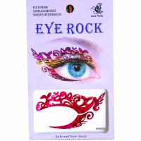 HSA020 left and right eye temporary tattoo sticker