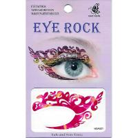 HSA021 left and right eye temporary tattoo sticker