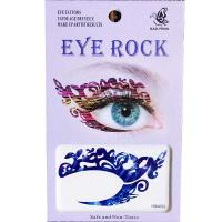 HSA022 left and right eye temporary tattoo sticker