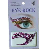HSA023 left and right eye temporary tattoo sticker