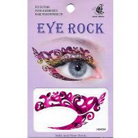 HSA024 left and right eye temporary tattoo sticker