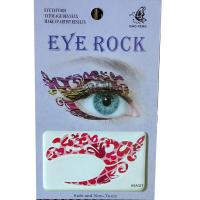 HSA027 left and right eye temporary tattoo sticker