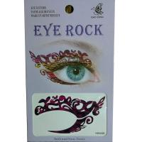 HSA028 left and right eye temporary tattoo sticker