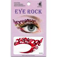 HSA030 left and right eye temporary tattoo sticker