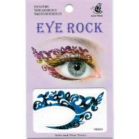 HSA031 left and right eye temporary tattoo sticker