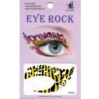 HSA032 left and right eye temporary tattoo sticker