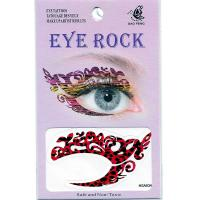 HSA034 left and right eye temporary tattoo sticker