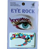 HSA035 left and right eye temporary tattoo sticker