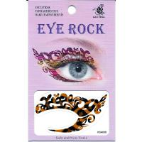 HSA036 left and right eye temporary tattoo sticker