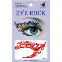 HSA037 ladys new fashions left and right eye temporary tattoo sticker