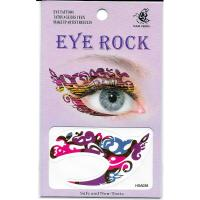 HSA038 ladys new fashions left and right eye temporary tattoo sticker