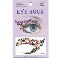 HSA041 flower design temporary tattoo sticker for eye