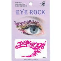 HSA045 left and right Pink eye temporary tattoo sticker
