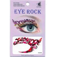 HSA046 left and right eye temporary tattoo sticker