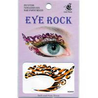HSA047 Water transfer eye makeup tattoo sticker