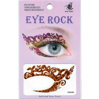 HSA048 water transfer left and right eye tattoo sticker