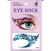 HSA049 water transfer left and right Jean pattern eye tattoo sticker