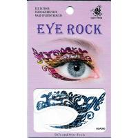 HSA050 waterproof Jeans pattern temporary eye tattoo sticker
