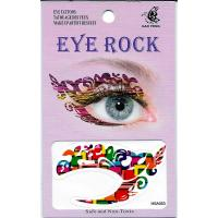 HSA053 waterproof bright-coloured waterprint temporary eye tattoo sticker