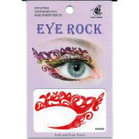 HSA055 Lady's party left and right eye temporary tattoo sticker