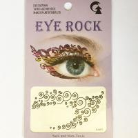 HSA073 Special design black temporary eye tattoo sticker